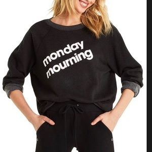Wildfox Monday Mourning Sweatshirt